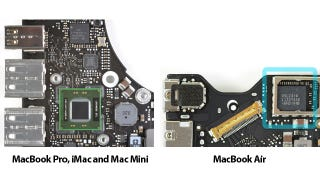 Illustration for article titled MacBook Air's Thunderbolt Port Is Weak Sauce (Compared to Other Macs)