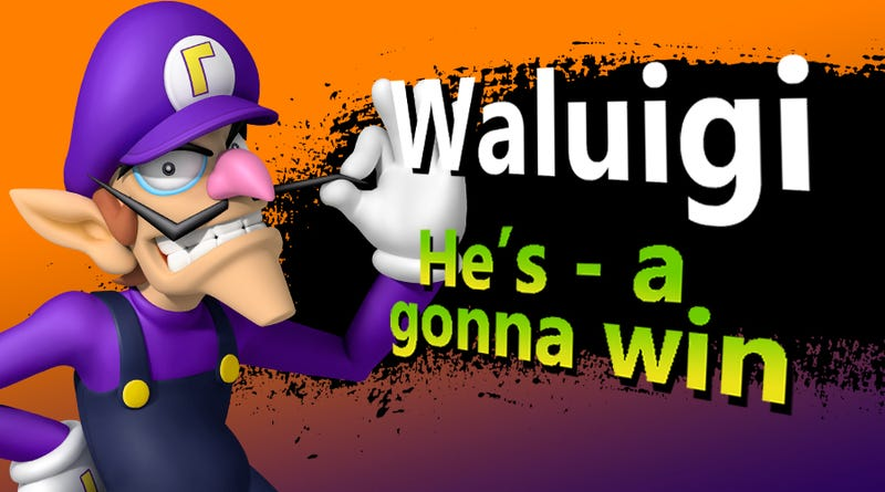 Illustration for article titled Challenger Approaching! Waluigi DLC and Amiibo Confirmed (I Wish)