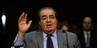 Justice Antonin Scalia (Jewel Samad/AFP/Getty Images)