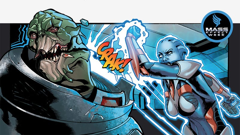 Illustration for article titled What You Missed in the Mass Effect Comic Books