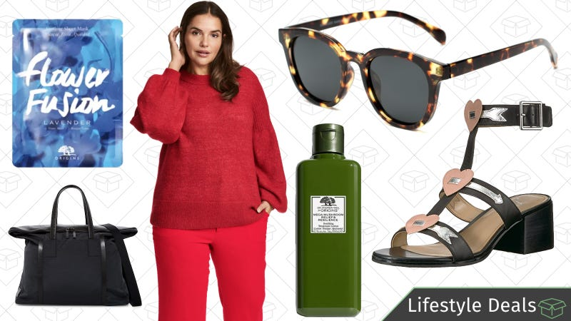Illustration for article titled Monday's Best Lifestyle Deals: Amazon Shoes, Society6, Sunglass Warehouse, Origins, and More