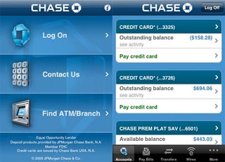 Chase Bank Customers Can Deposit Checks Using an iPhone App