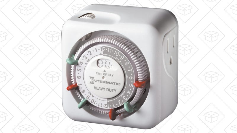 Intermatic 15 Amp Heavy Duty Grounded Outlet Timer, $10