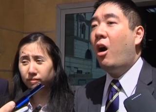 Grace and Matthew HuangYahoo News screenshot