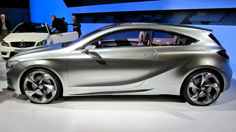 Illustration for article titled Mercedes A-Class Concept