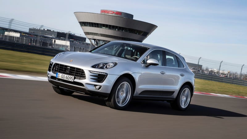 Illustration for article titled 2015 Porsche Macan: A Crossover That's More Fun On Track Than The Road
