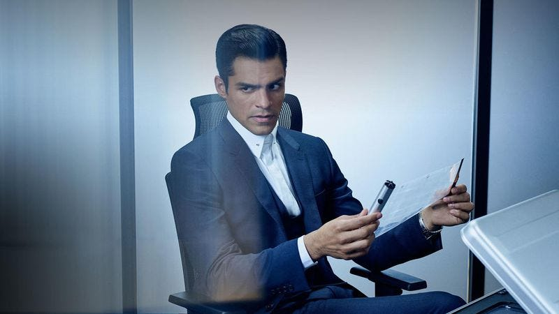 Sean Teale stars in Incorporated (Photo: Ben Mark Holzberg/Syfy)