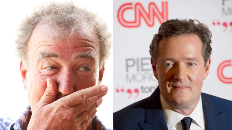 Illustration for article titled Jeremy Clarkson and Piers Morgan Get In Comical Old Man Twitter Fight