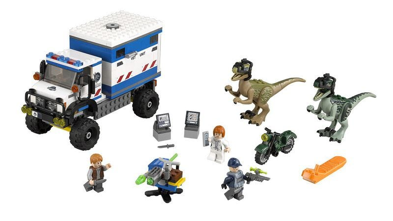 Illustration for article titled Soon you too can play God with the Jurassic World Lego set