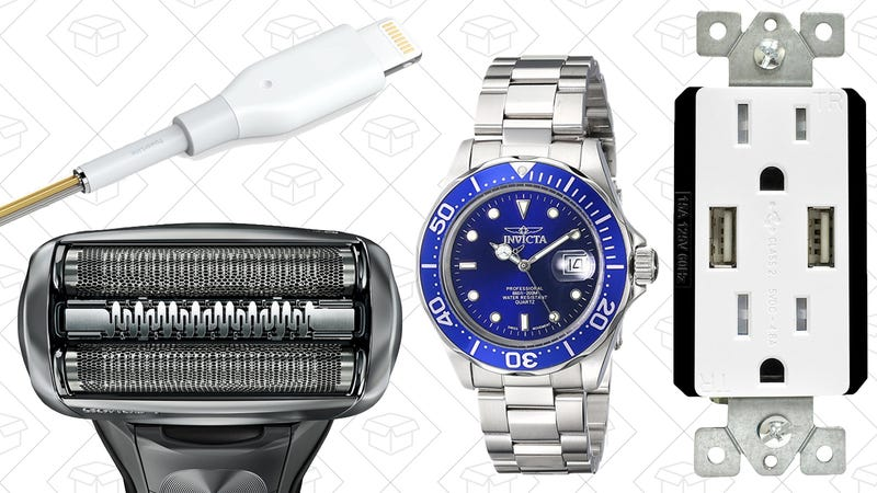 Illustration for article titled Today's Best Deals: Father's Day Gifts, Anker PowerLine Cable, USB Power Receptacles, and More
