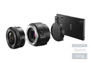 Illustration for article titled Sony's Rumored QX1 Lens Could Turn Your Smartphone Into a DSLR