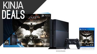 Illustration for article titled The Arkham Knight PS4 Bundle Is $30 Off Today
