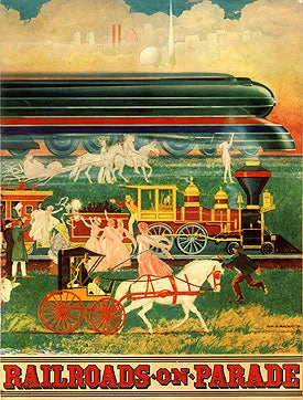 Illustration for article titled Railroads on Parade (1939)