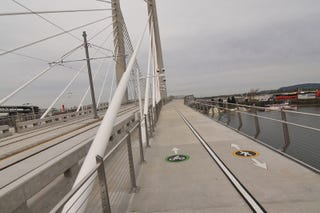 Illustration for article titled No Cars Will Be Allowed on This Stately New Bridge in Portland