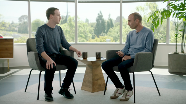 I Wouldn t Even Make My Worst Enemy, Who Happens to Be Mark Zuckerberg, Listen to 90 Minutes of Mark Zuckerberg Bloviating About, Uh, People, or Technology, or Something
