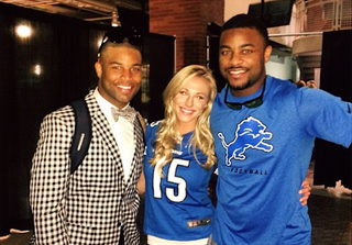 Illustration for article titled Golden Tate's Girlfriend Will Find You If You Bring Up That Rumor