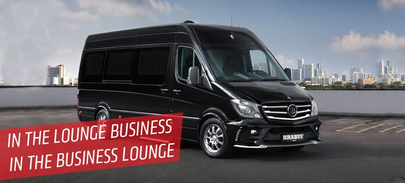 Illustration for article titled BRABUS' Customized Sprinter Is Another Nail In The Limo's Coffin