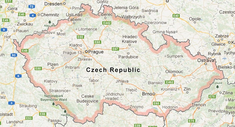 Illustration for article titled Czech Republic Denies That It's Chechnya