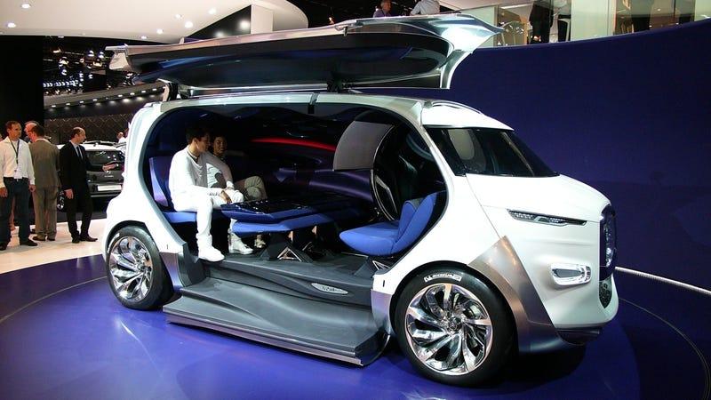 The Citro 235 N Tubik Retro Future Space Van Of Our Dreams