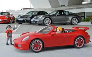Illustration for article titled Playmobil Made This Awesome Porsche You'll Definitely Want