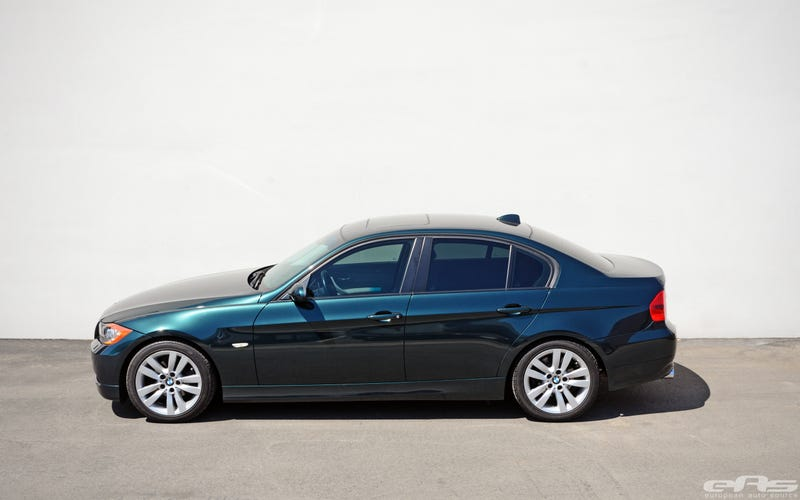 Illustration for article titled I mollified my need to buy a green E90, by buying a green E90