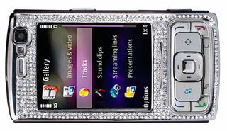 Illustration for article titled Diamond-Coated Nokia N95 Costs $24,000 (Limit 10 Per Customer)