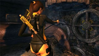 Illustration for article titled Tomb Raider Glitch Ruins Wii Adventures