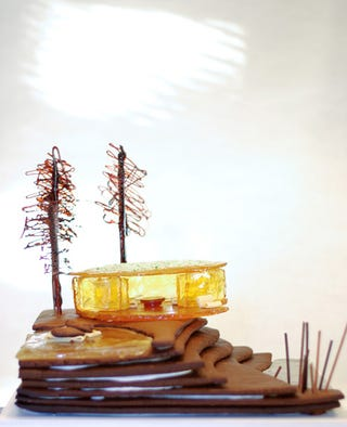 Illustration for article titled Contemporary Gingerbread Houses