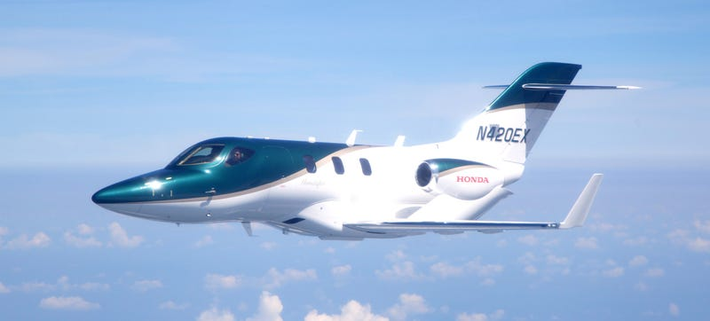 Illustration for article titled This Is The First Production HondaJet