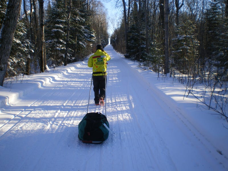 Illustration for article titled Why Running Alone Through Snow For 135 Miles Is Harder Than It Sounds