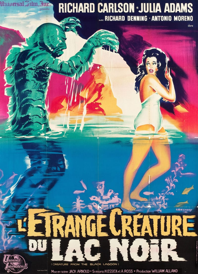 Mind Bending French Posters For Cult Scifi And Horror Movies