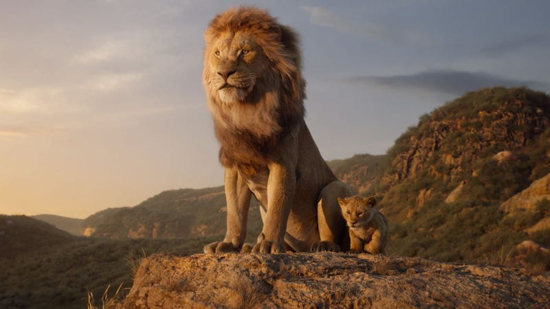 Illustration for article titled Weekend Box Office: The Lion King continues Disney's trend of humongous opening weekends