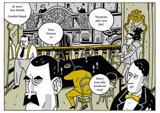 Illustration for article titled Az évtized netes tartalma: zombik vs. nyugatos írók képregény. Eszelős!