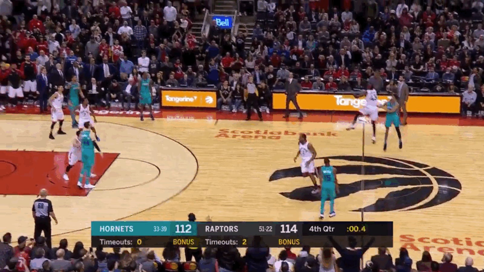 Hornets' Jeremy Lamb Stuns Toronto With Absolutely Ridiculous, Game-Winning Buzzer-Beater