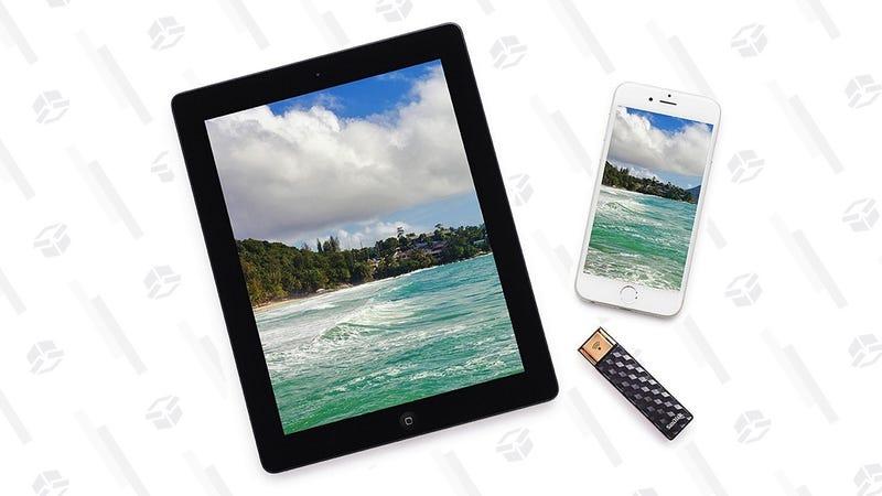 SanDisk 64GB Wireless Flash Drive   $23   Amazon
