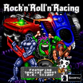 Illustration for article titled Shiryu Music: Holy Toledo! Rock'n'Roll'n'Racing Drops!