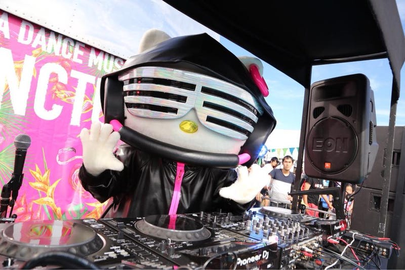 "Illustration for article titled DJ Hello Kitty Opens With ""Motherf**kers"""