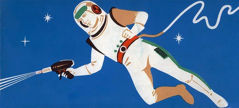 Illustration for article titled Todas las armas que los astronautas han llevado al espacio en la historia