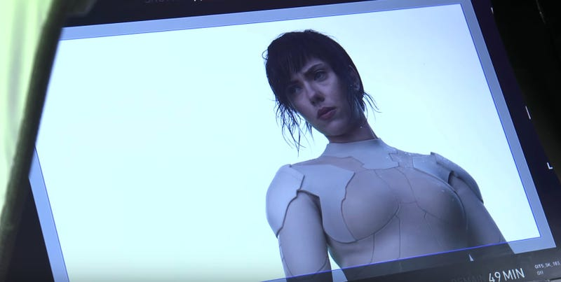 Illustration for article titled Original Ghost in the Shell Director Gives the Live-Action Film His Stamp of Approval in New Video