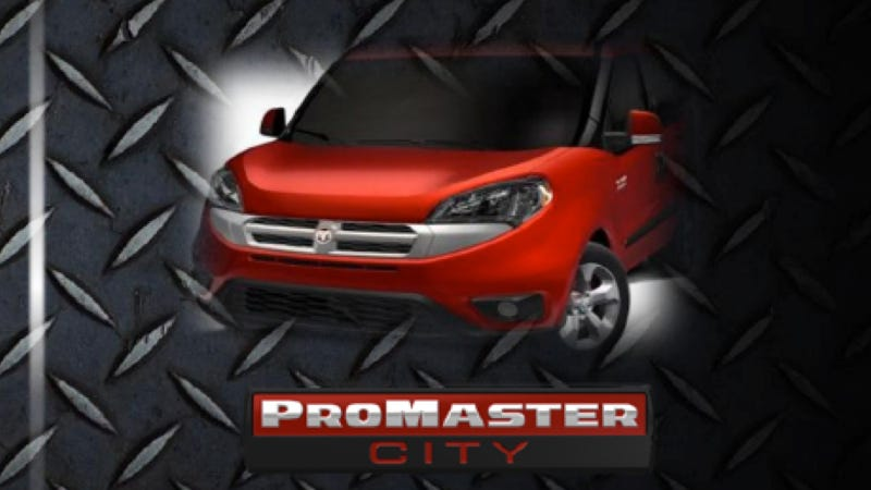 Illustration for article titled Ram Launching Compact ProMaster City Van Based On Fiat Doblo