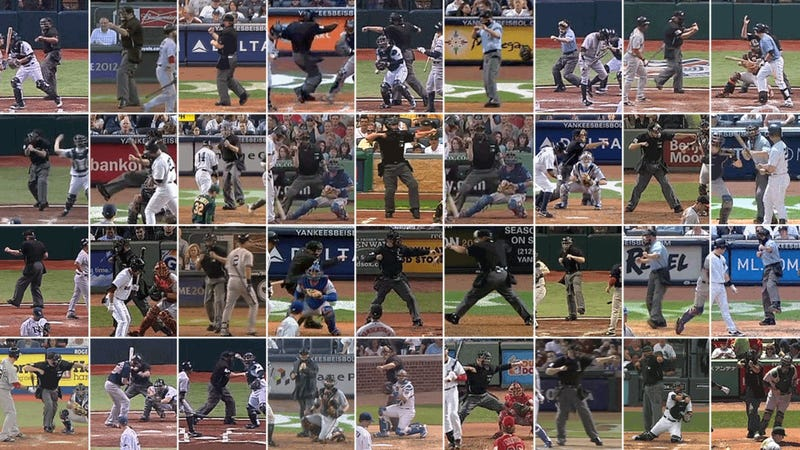 Illustration for article titled Yerrrr Out-Out-Out-Out!: An Animated Gallery Of Every MLB Umpire's Strike-Three Call (Part 2)