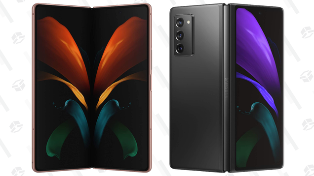 Save $209 on the Absurdly Luxe Samsung Galaxy Z Fold 2 5G Smartphone