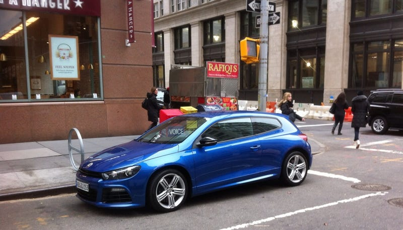 Illustration for article titled Scirocco R Spotted In NYC; Destined For US Market?