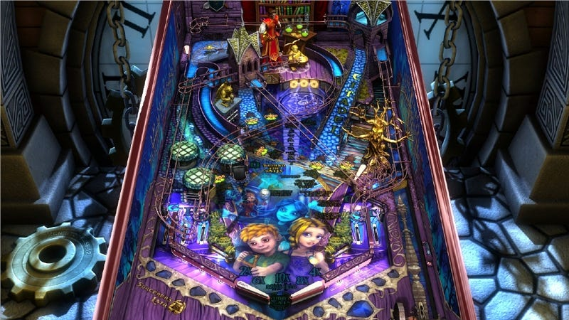Illustration for article titled Pinball FX2 Gets Another Table: 'Sorcerer's Lair'