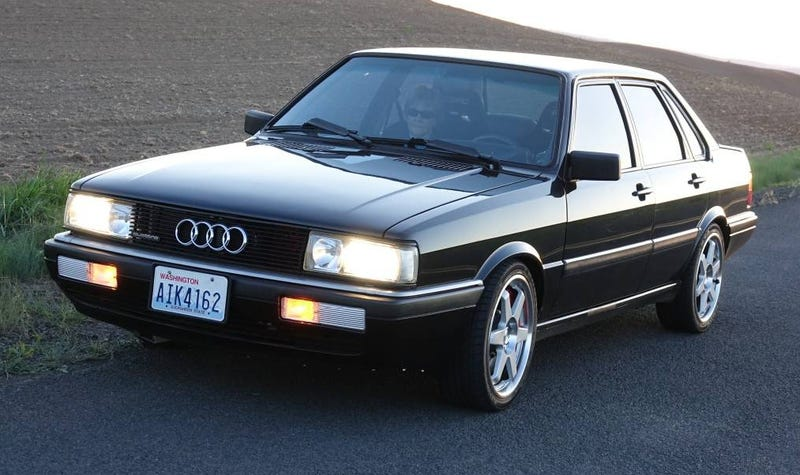 Illustration for article titled Could This 1987 Audi 4000 Really Be Worth $25,000?