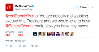 Illustration for article titled Was McDonald's Twitter Hacked, or Has It Gone Rogue?