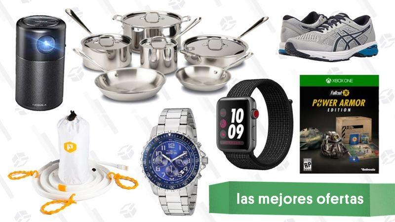 Illustration for article titled Las mejores ofertas de este lunes: Rebajas en Zappos, Apple Watch LTE, reservas del E3 y más
