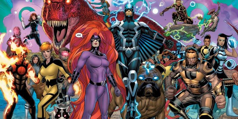Ojalá hagan una película digna de Inhumans.