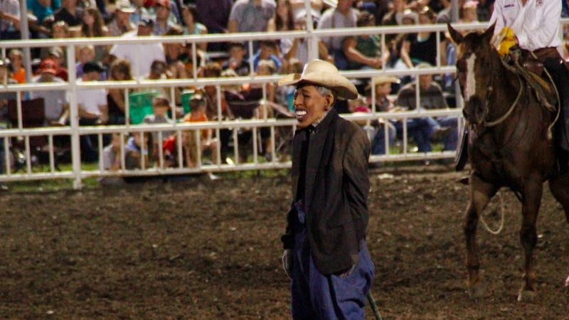 Illustration for article titled Missouri State Fair Rodeo Clown Under Fire for Obama Stunt