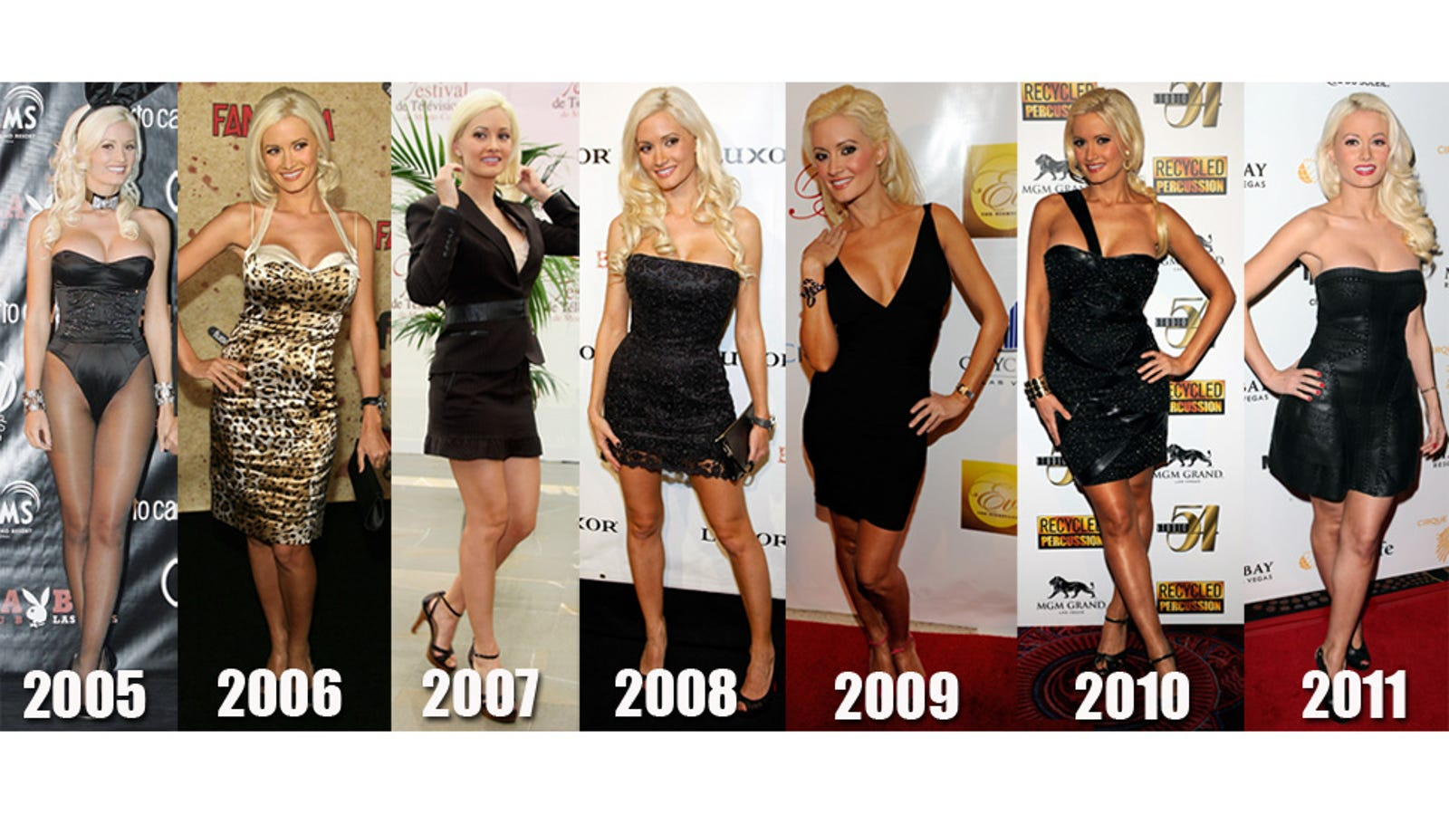 When Was Holly Madison Ever Fat